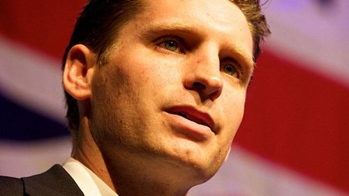 The Liberal candidate in Canning, former soldier Andrew Hastie. (AAP)