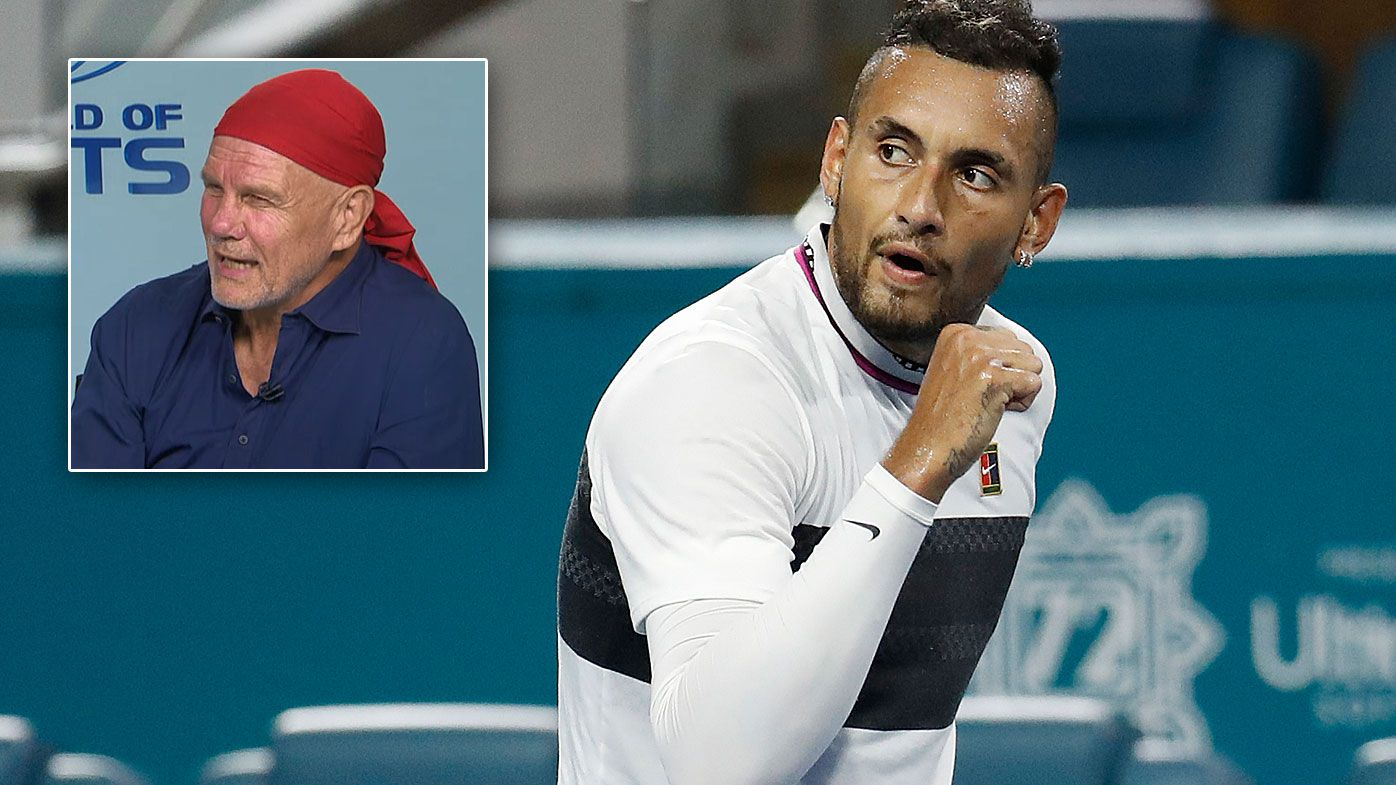 Nick Kyrgios' controversial tactic 'in the spirit of the game', says Peter FitzSimons
