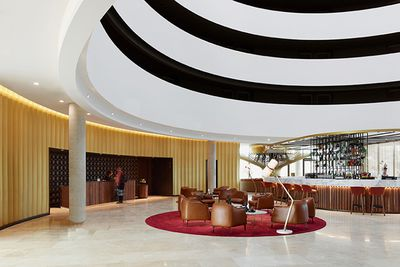 Canberra Airport Hotel by Bates Smart, ACT