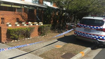 The unit was declared a crime scene.
