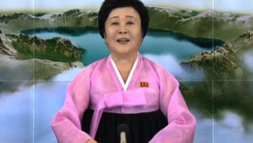 Who is North Korea's 'Pink Lady' news anchor?