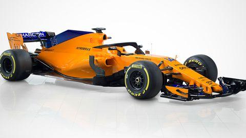 The 2018 McLaren.