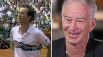 John McEnroe is considered one of tennis' all time greats, with 17 major Grand Slam titles under his belt and a career spanning decades.