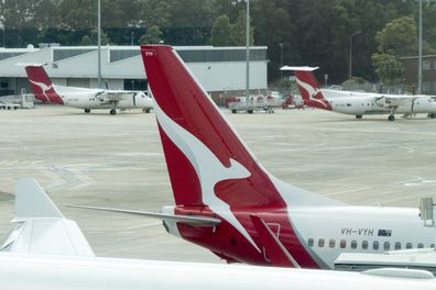Qantas Points Plane
