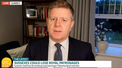ITV royal reporter Chris Ship on Good Morning Britain