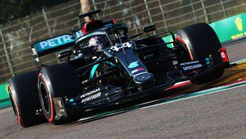 Hamilton's 'boring' blast as teammate takes pole