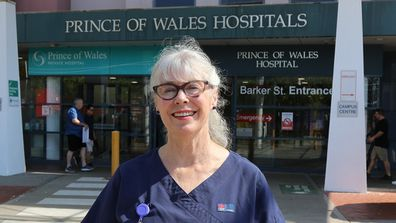 She as been at Prince of Wales hospital in Sydney for the pats 15 years.