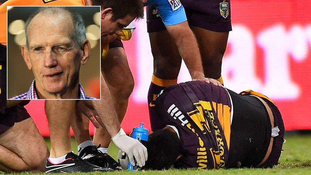 Target dropping knees: Wayne Bennett
