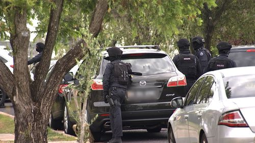 Mr Betka was arrested during a NSW Joint Counter Terrorism Team (JCTT) operation in Mount Lewins yesterday. (AAP)