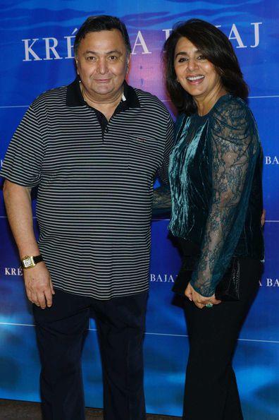 Rishi Kapoor and Neetu Singh.