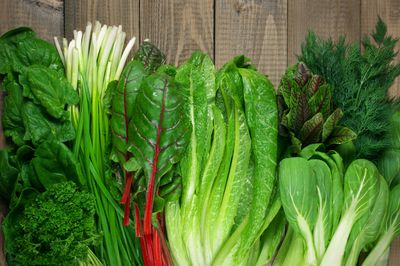 <strong>Dark leafy greens</strong>