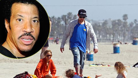 Lionel Richie: 'I'm begging Nicole and Joel Madden not to move to Australia'