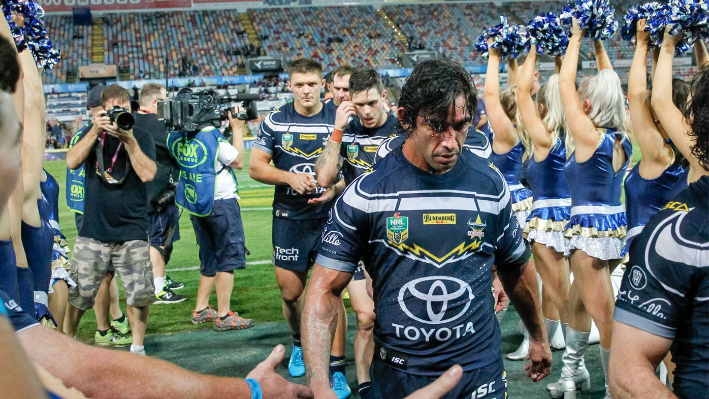 Corey Parker slams talk of moving Johnathan Thurston's last game