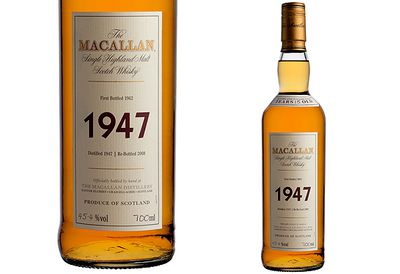 $15,000 Macallan 1947 Scotch