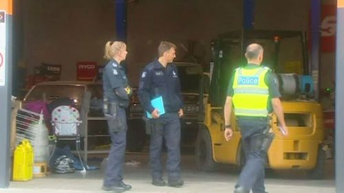 Baby dies after Victorian forklift accident