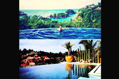 @msleamichele: I <3 Mexico! Best vacation with my best friend...
