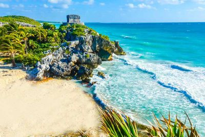 5. Tulum Beach in Quintana Roo, Mexico