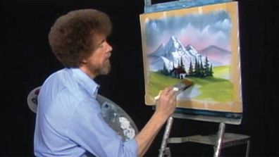 Bob Ross painted a cabin in 18 percent of his paintings.