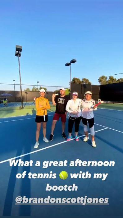 Rebel Wilson, tennis, Instagram, photo, year of health