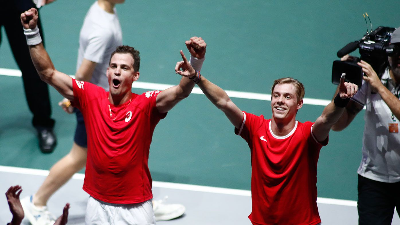 Denis Shapovalov and Vasek Pospisil