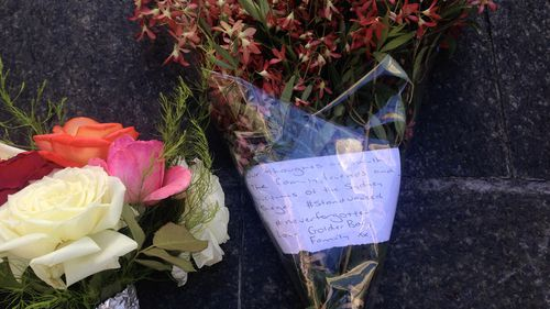 """#neverforgotten: Hours after the siege ended Martin Place became a """"sea of flowers""""."""
