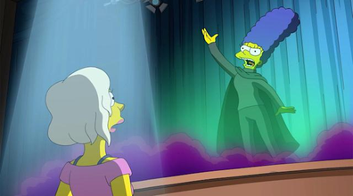 Kristen Bell will take on the (singing) voice of Marge Simpson.