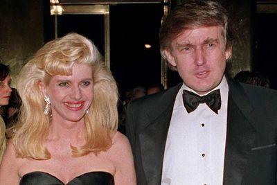 Donald Trump and Ivana Trump<br />
