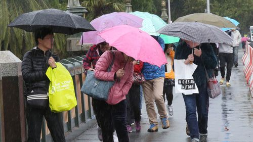 Temperatures in the city are expected to hit nine degrees today before rising to a max of 14.
