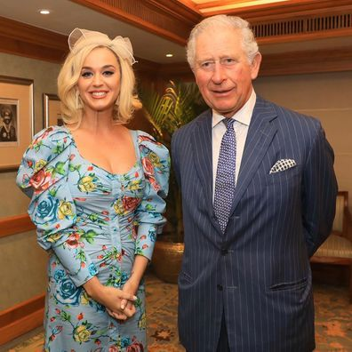 Katy Perry meets Prince Charles during royal tour of India