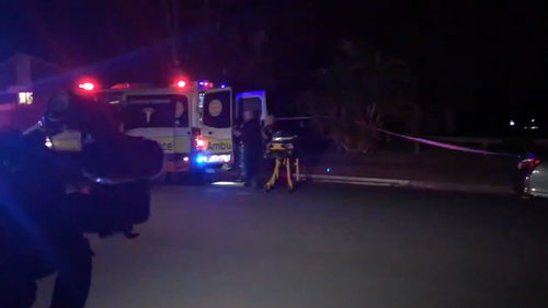 A teen boy has been stabbed to death at a dog park on the Gold Coast.