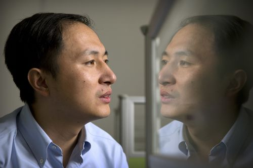 Researcher He Jiankui edited the genes of twin girls created through IVF.