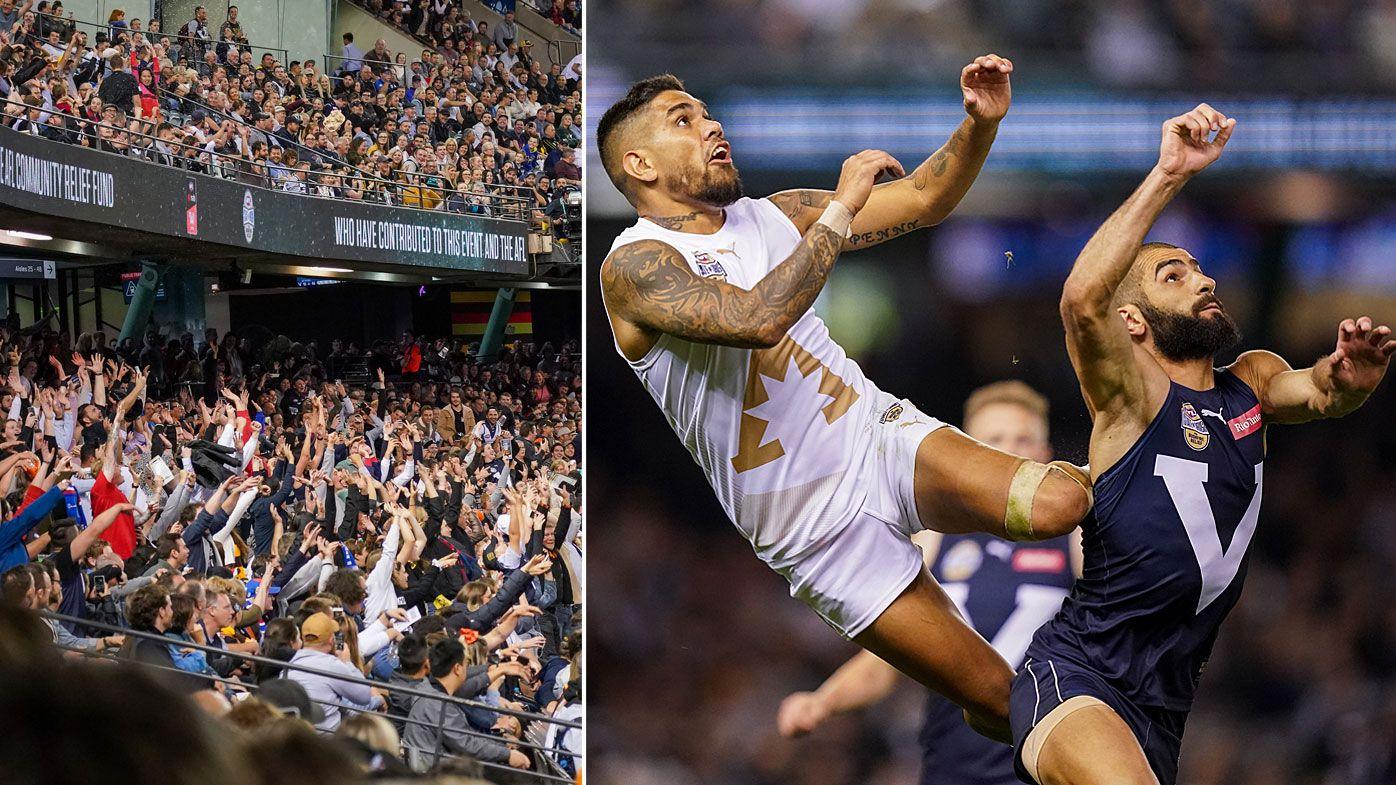 'The sort of stuff you see at a game of soccer': AFL legends split on regular Origin fixture