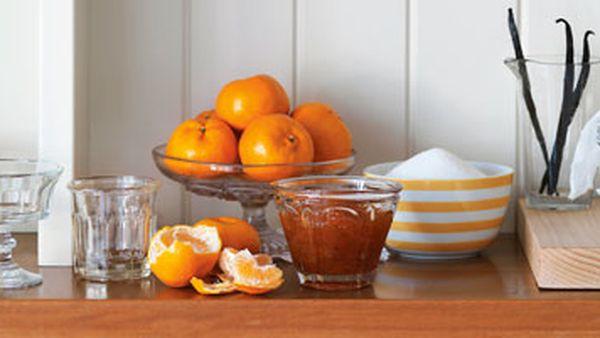 Mandarin & vanilla marmalade