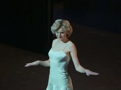 Emma Corrin as Princess Diana in The Crown.