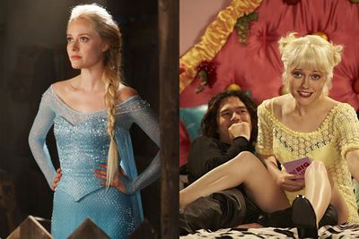 Shooting to  homegrown fame with <i>Underbelly</i>, <i>Never Tear Us Apart</i> and <i>Wasted on the Young</i>, Aussie actress Georgina Haig scored big time with her 2014 role as <i>Frozen</i>'s Elsa in <i>Once Upon a Time</i>. <br/><br/>We're expecting big things from his blonde bombshell when if makes her move from TV back to the big screen.<br/><br/>Images: <i>Once Upon a Time</i>,  ABC / <i>Never Tear Us Apart: The Untold Story of INXS</i>, Seven Network.