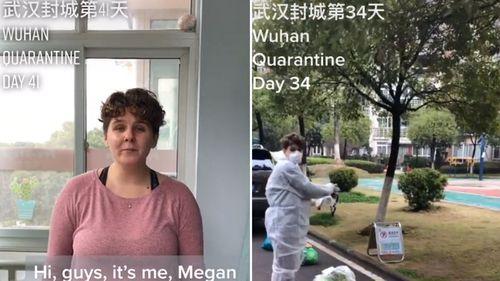TikTok user Megan Monroe has been sharing videos from inside lockdown in Wuhan, China.