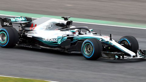 The new Mercedes W09.