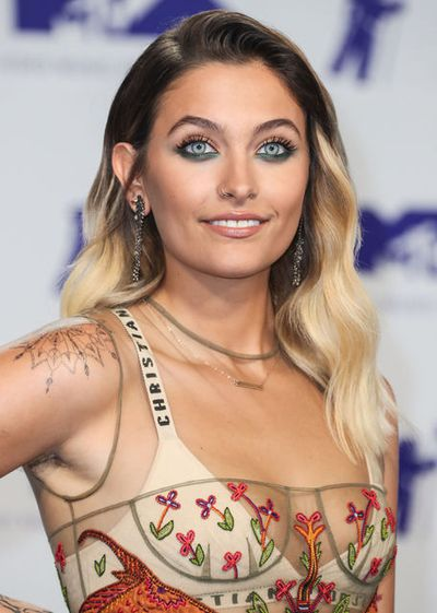 Singer and model Paris Jackson at the 2017 MTV Video Music Awards