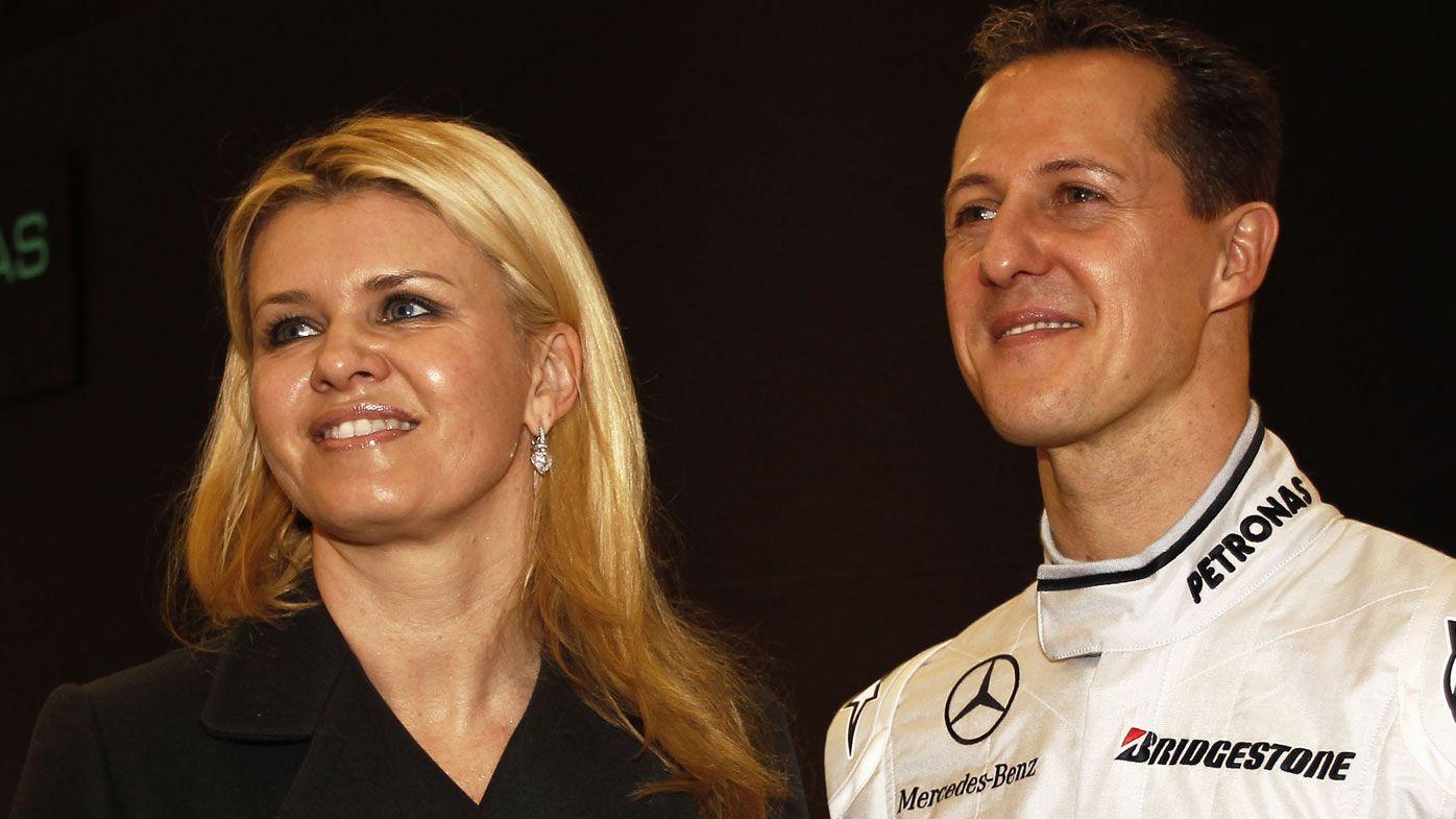 Michael Schumacher's wife Corinna writes heartbreaking letter to well-wisher