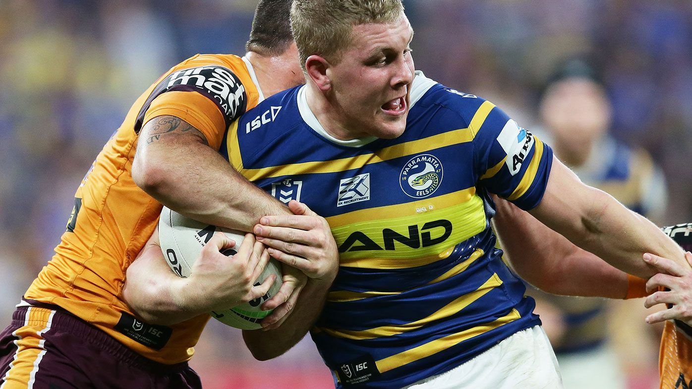St George Illawarra Dragons sign Daniel Alvaro from Parramatta on two-year deal