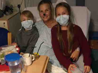 Mum's chesty cough leads to leg and hand amputation