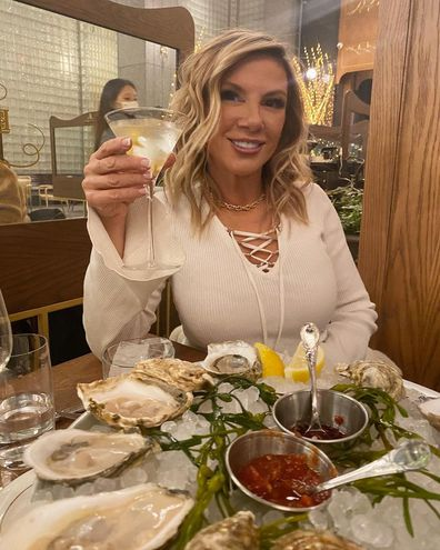 Real Housewives of New York, reality TV star, Ramona Singer Instagram screenshot, bank statement