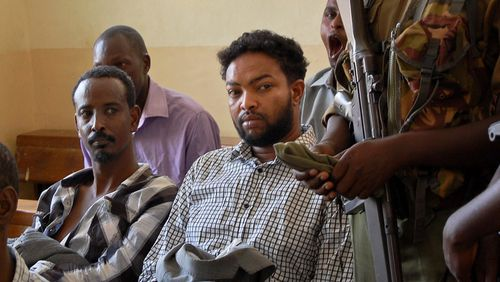 Sulub Warfaa, 36, said he was pleased to be released, speaking to journalists outside the court in Garissa, Kenya.
