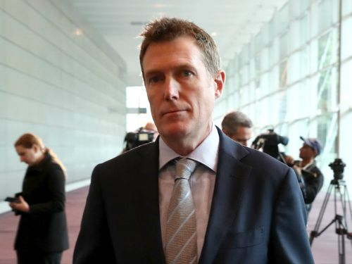 Christian Porter denied the foreign interference bills were directed at China. (AAP)