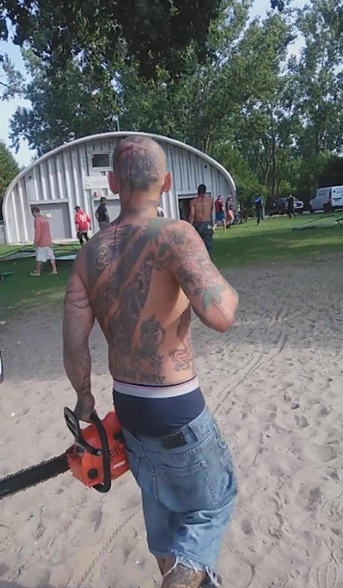 Canada chainsaw men