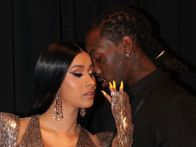 Cardi B and Offset at the Billboard Awards in 2019.