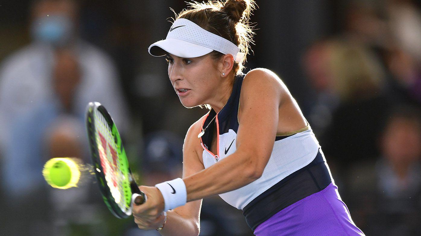 Belinda Bencic sets up Adelaide International final against Iga Swiatek