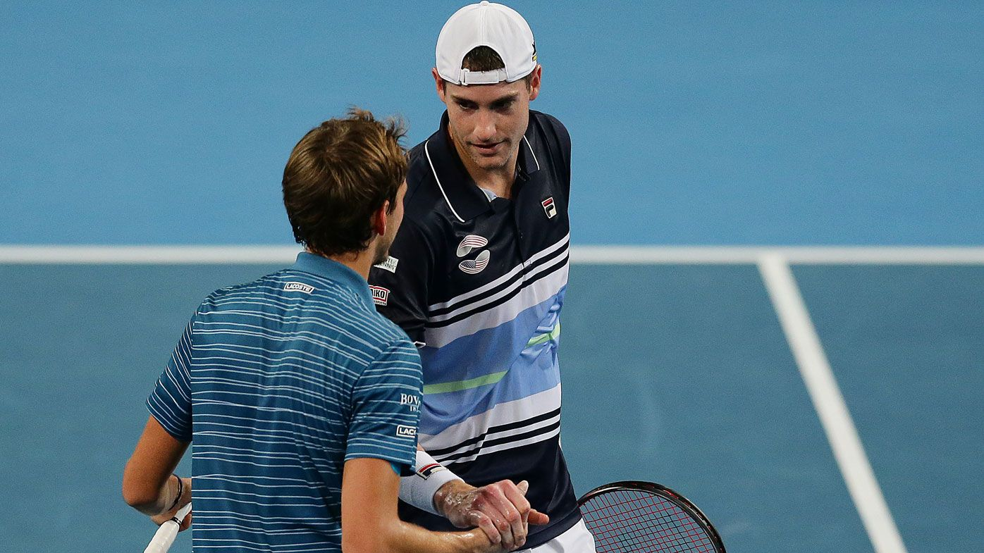 I got my a-- kicked, says John Isner after ATP Cup hiding from Daniil Medvedev