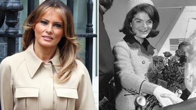 DOnald Trump compares Melania to Jackie O
