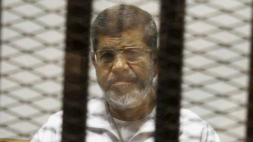 US alarmed over death sentence of ousted Egyptian president